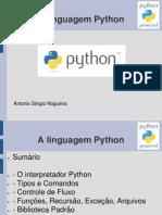 A Linguagem Python