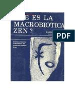Vicente Serneguet - Que Es La Macrobiotica Zen