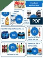 May Soda Flyer 2014