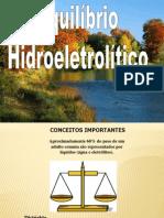 Equilibrio Hidroeletrolítico