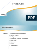 Krannich Solar Company Presentation 2014