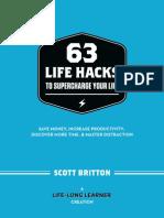 Scott Britton - 63 Life Hacks
