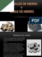Minerales de Hierro y Minas de Hierro