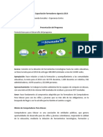 Resumen Capacitación Formadores Vigencia 2014