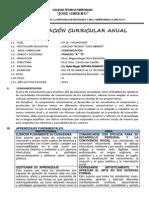 Programacion Curricular Anual de Comunicacion 1º 2014