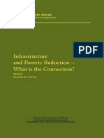 Infrastructure and Poverty Reduction-what is the Connection
