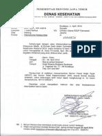 Dody Firmanda 2014 - Dinas Kesehatan Prov Jawa Timur Peran Komite Medik dan SMF dalam Peningkatan Mutu Rumah Sakit melalui PPK