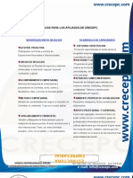 BENEFICIOS  CRECEP OFICIAL