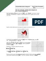 Cálculo Dif e Int I Volume de Sólidos 2012