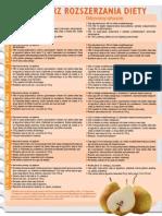 Kalendarz Rozszerzania Diety