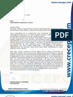 Invitacion Ejecutiva a Empresarios y Program Networking Crecepc