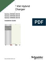 Xantrex - Inversor-Cargador - Manual de Usuario - Series XW - 1