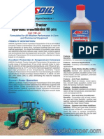 Synthetic Tractor Hydraulic/Transmission Oil SAE 5W-30 (ATH)