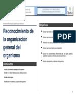 Tema 1. Reconocimiento de La Organizacion General Del Organismo