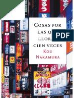 Cosas Por Las Que Llorar Cien Veces - Kou Nakamura
