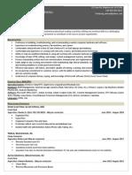 addy resume