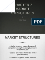 chapter 7 market structure
