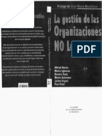 La Gestion de Org No Lucrativas 01 INCLUYE CAPITULO 1