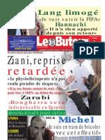 LE BUTEUR PDF du 02/11/2009