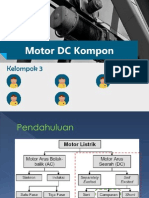 Motor Dc - Kompon