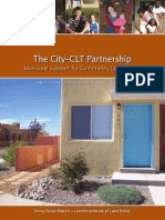 2-City-CLT Partnership - Municipal Support for CLTs