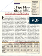 Piping - Speed Up Pipe Flow Calculations - Chemical Engineering - Dec 1998