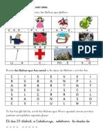 Consciència Fonològica Sant Jordi