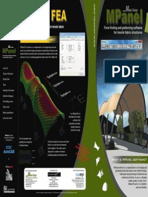Mpanal Software Suite Brochure Auto Cad Autodesk