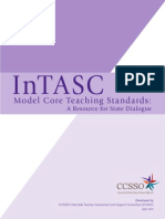 intasc model core teaching standards 2011-2