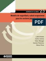 Modelo de Seguridad y Salud Ocupacional Para Los Sectores Joyería y Bisutería