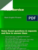 F&B Service English 1