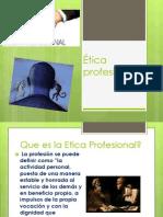 Etica Profesional 2 de Mayo