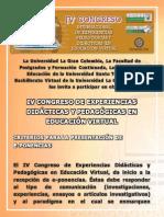 E-Ponencias IV Congreso EPDEV