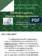 8.2. Tecnicas -Modelos-libros- Educar Valores Introd