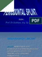 jenis-jenis splint dan cara splinting. Bahan kuliah pakar periodonsi