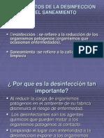 Fundamentos de La Desinfecci n Diapositivas