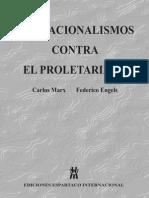 MARX ENGELS Nacionalismos Proletariado