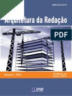 UEPG - Revista Arquitetura Da Redação Completa - 2013