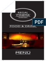 Regal Cinema Food and Drinks List 151013