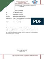 Informe Sobre El Análisis Granulométrico