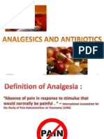 Pedo Seminar- Analgesics and Antibiotics used in Children