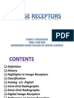 Image Receptors - For Dental Radiology Seminar