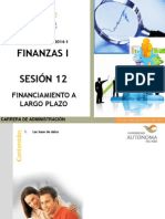 S-12 Financiamiento a Largo Plazo