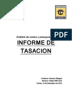 Tasacion (Ejemplo)