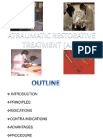 Art- Atraumatic Restorative Treatment in Dentistry