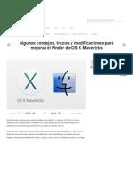 APPLE Mejorar El Finder de OS X Mavericks