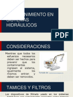 PRESENTACIÓN SISTEMAS HIDRAULICOS