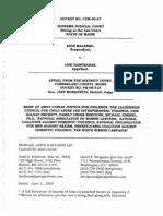 Amicus Brief Against Judge Moskowitz Filed June 12 2009
