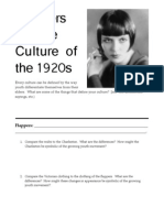 Flappers and the Culture of the 1920s