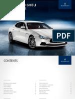 2014 Maserati Ghibli Ordering GuideV1